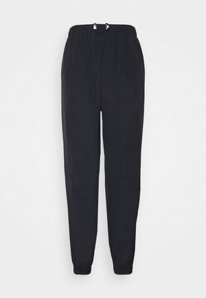 TOGGLE WAIST - Tracksuit bottoms - navy