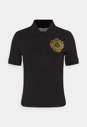 Polo shirt - black/gold