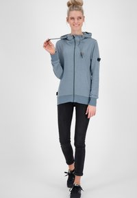 alife & kickin - Zip-up hoodie - steel - 1