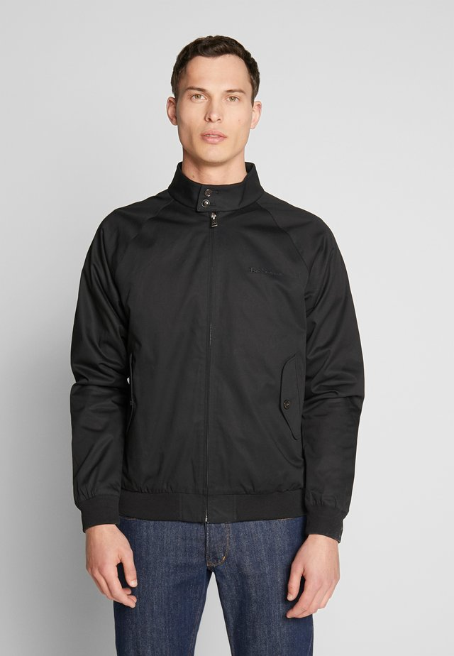 SIGNATURE HARRINGTON - Tunn jacka - black