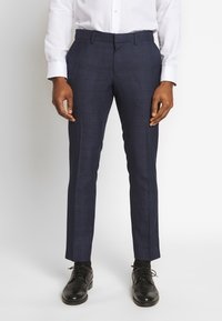 Isaac Dewhirst - CHECK SUIT - Suit - dark blue - 2