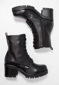Dockers by Gerli - Platform ankle boots - schwarz/dunkelgrau - 3