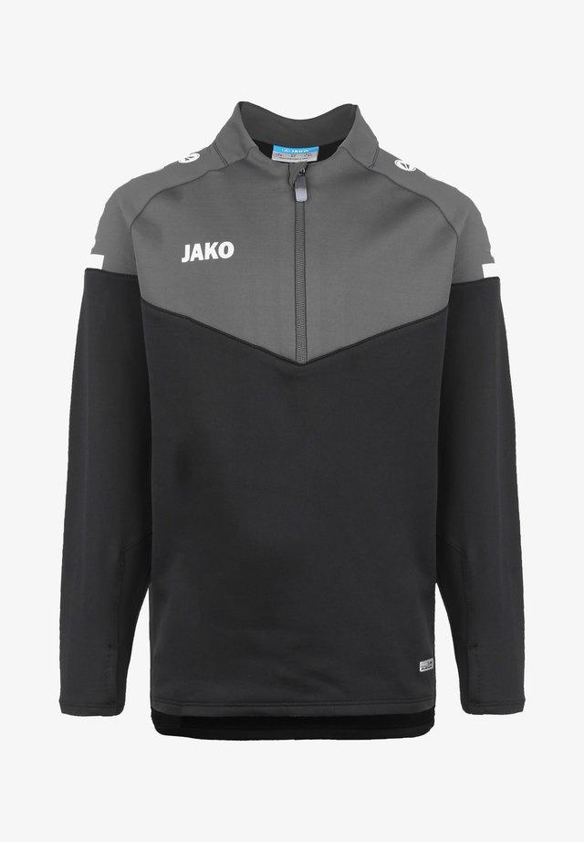 Sweatshirt - schwarz/anthrazit