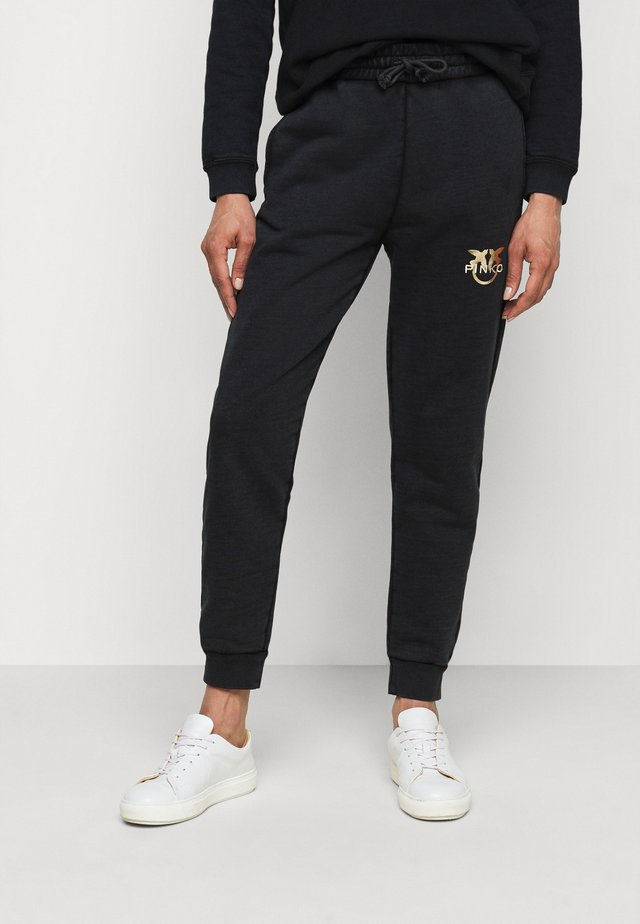 CARICO PANTALONE  - Pantalon de survêtement - black