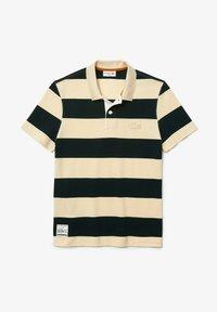 Lacoste - Polo shirt - beige / vert fonce - 4