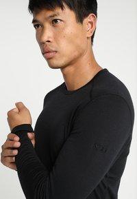 Icebreaker - MENS CREWE - Sports shirt - black - 3