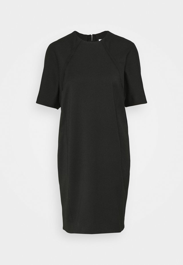 COCOON DRESS - Korte jurk - black