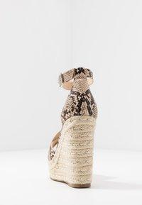 Steve Madden - SIVIAN - High heeled sandals - beige - 5