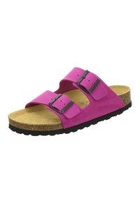 AFS Schuhe - ZWEISCHNALLER - Slippers - pink - 2
