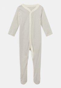 Marks & Spencer London - BABY ORGANIC 3 PACK UNISEX - Sleep suit - grey - 2