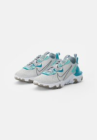 Nike Sportswear - NIKE REACT VISION - Trainers - pure platinum/smoke grey-aquamarine-tropical twist-white - 1