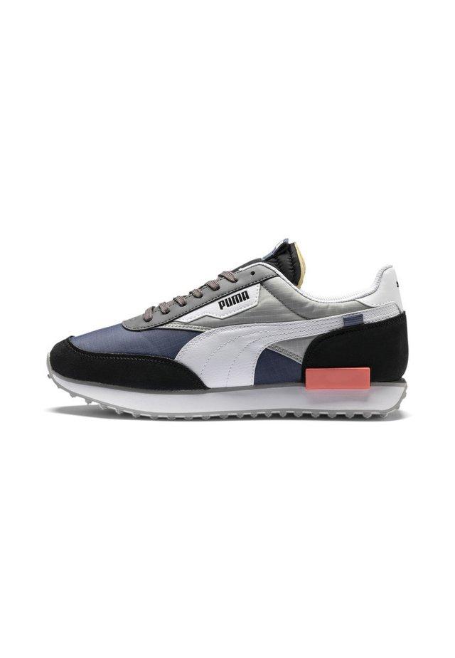 FUTURE RIDER PLAY ON UNISEX - Sneakers basse - black-white-blue indigo