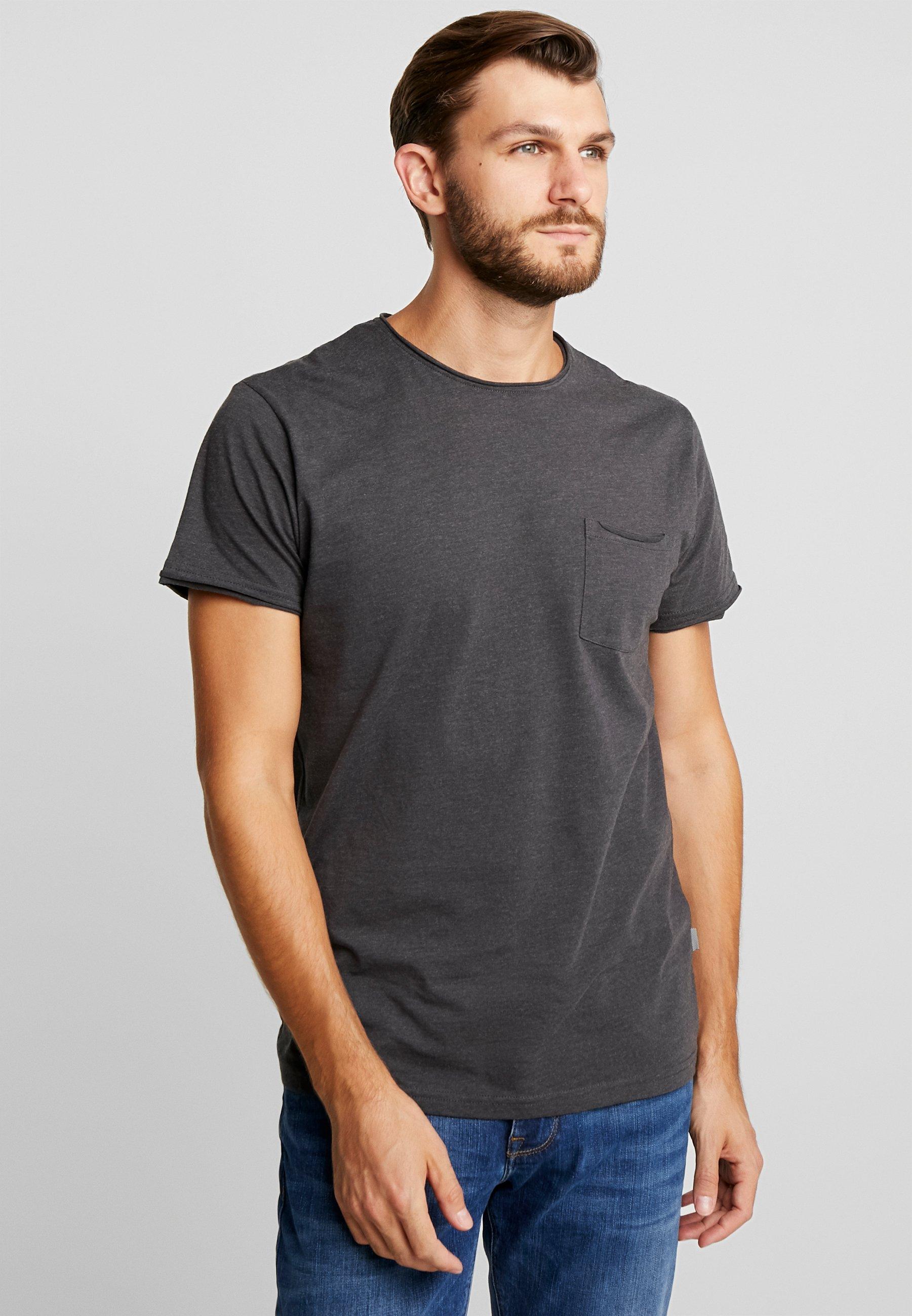 Uomo GAYLIN - T-shirt basic - dar grey