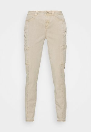 HOSE LANG - Chino kalhoty - sand
