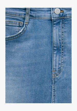 WITH VERY HIGH WAIST - Jeans Skinny - mottled light blue