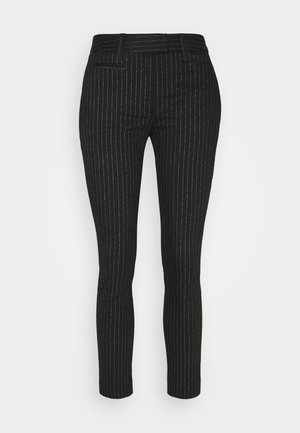 PERFECT - Trousers - black