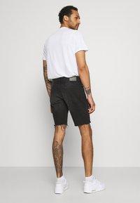 Redefined Rebel - RROSAKA - Denim shorts - marble black - 2