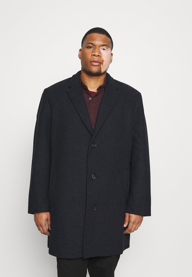 COAT BUTTONS - Kåpe / frakk - navy blue