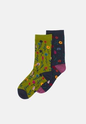 MONDIE FLORAL SOCK 2 PACK - Socks - multi