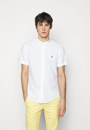 SEERSUCKER  - Shirt - white
