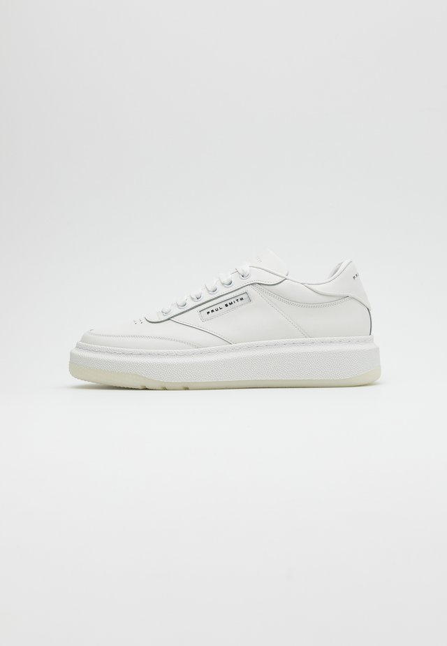 HACKNEY - Sneakersy niskie - white