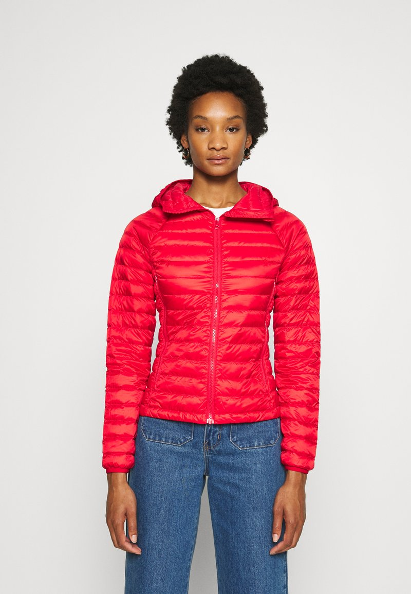 Benetton - JACKET - Down jacket - red