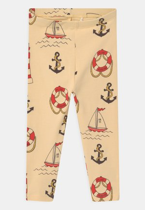 LIGHTHOUSE UNISEX - Leggings - yellow