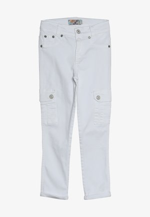 GIRLS HIGH WAIST PANT CROPPED - Relaxed fit jeans - schneeweiß reactive