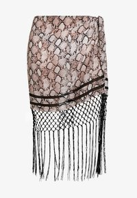 FRANKA WRAP SKIRT  - Beach accessory - multicoloured