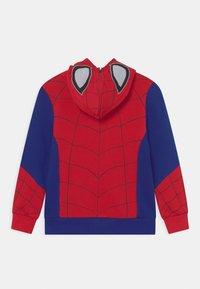 OVS - SPIDERMAN - Zip-up sweatshirt - barbados cherry - 1
