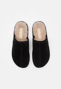 Walk London - LANGLEY - Pantofole - black/beige - 3