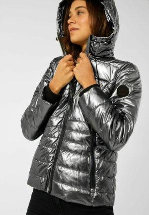 METALLIC OPTIK - Winter jacket - silber