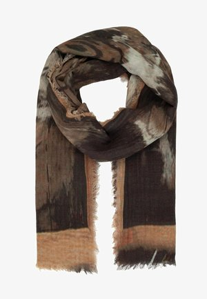 MIT PRINT - Sjaal - braun