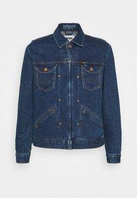 Wrangler - BRAD JACKET - Kurtka jeansowa - blue denim - 4