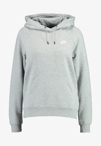 Nike Sportswear - HOODIE - Kapuzenpullover - dark grey heather/white - 5