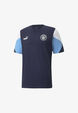 FTBLCULTURE FOOTBALL TEE - MAN CITY  - Sportshirt - blue