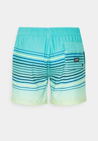 Billabong - SPRAYED STRIPES - Swimming shorts - spearmint - 1