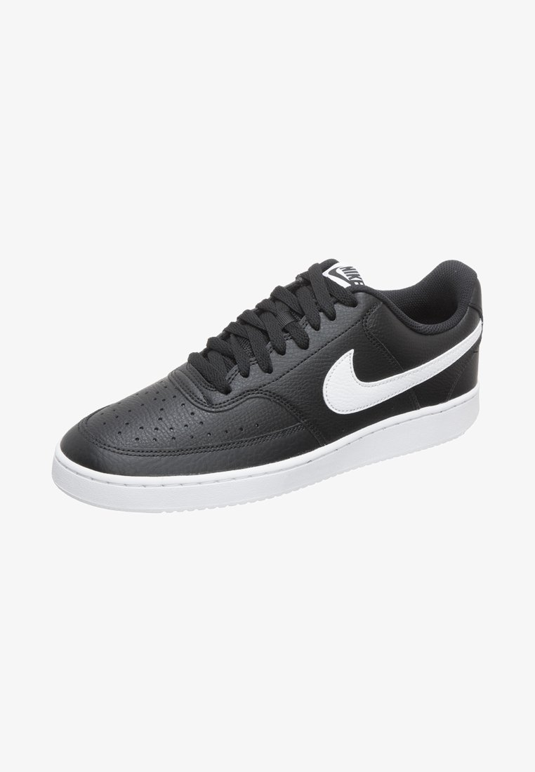 Nike Sportswear - COURT VISION  - Trainers - black/white