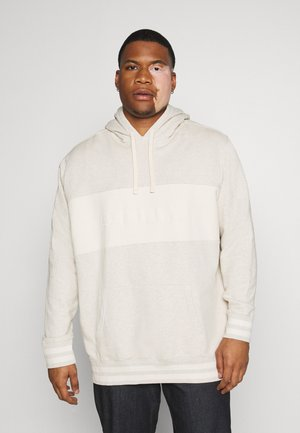 BIG RELAXED FIT HOODIE - Mikina - tofu