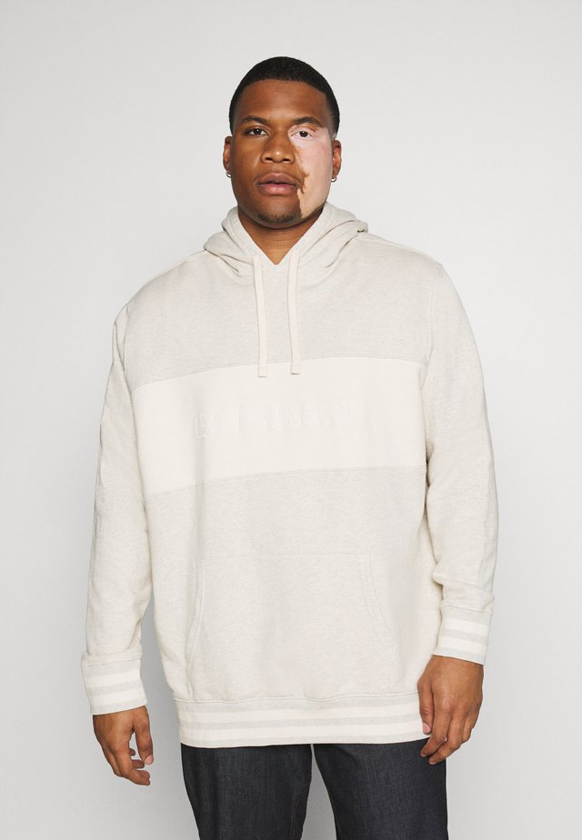 BIG RELAXED FIT HOODIE - Hoodie - tofu