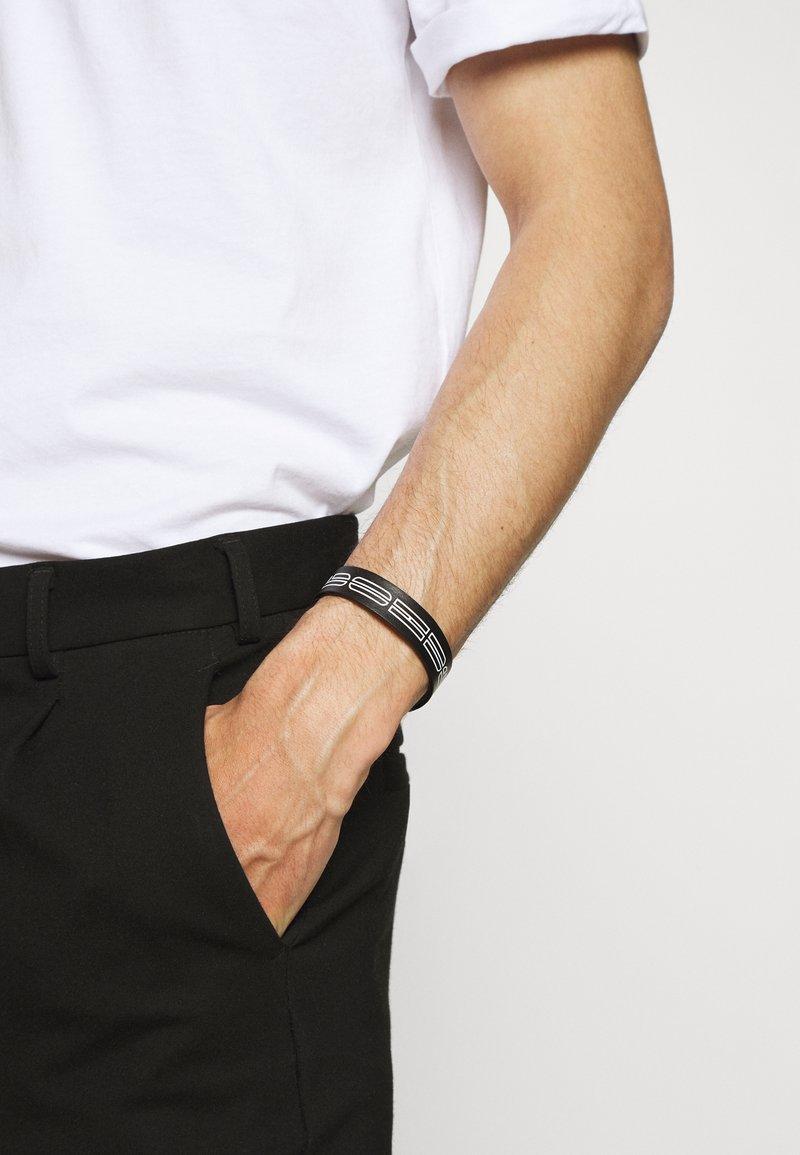 HUGO - LOGO BRACELET - Armbånd - black