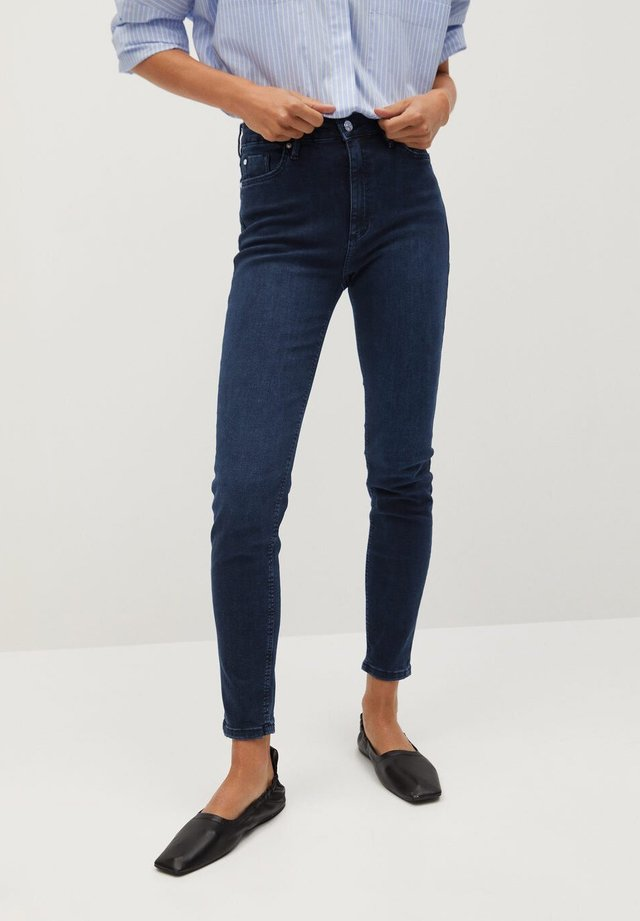 NOA - Jeans Skinny Fit - intensives dunkelblau