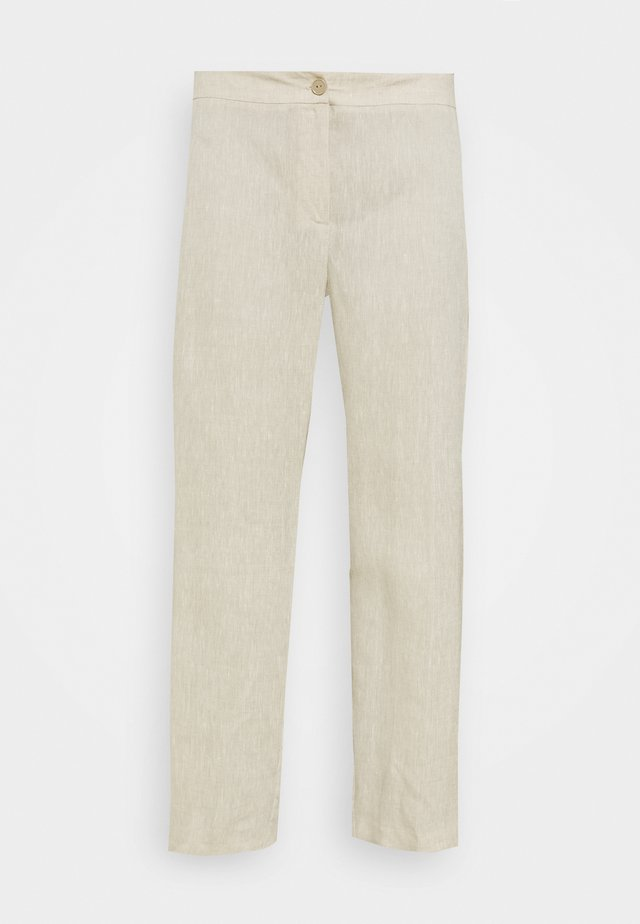 ROBOT - Trousers - ivory