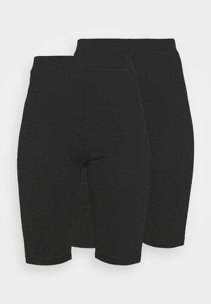 2 Pack Cycle Shorts - Kraťasy - black