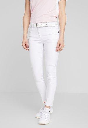 PANTS - Kalhoty - white