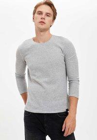 DeFacto - Stickad tröja - grey - 0