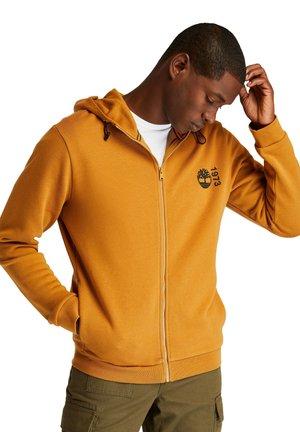 Zip-up sweatshirt - wheat boot