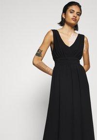 Vila - VIMILINA LONG DRESS - Occasion wear - black - 3