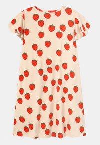 Mini Rodini - STRAWBERRY WING - Jersey dress - offwhite - 1