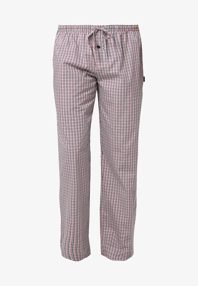 Pyjamahousut/-shortsit - red/white